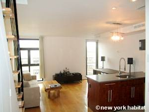 New York 2 Bedroom - Duplex accommodation bed breakfast - living room (NY-15299) photo 1 of 4