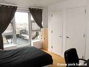 New York 2 Bedroom - Duplex accommodation bed breakfast - bedroom 2 (NY-15299) photo 2 of 8