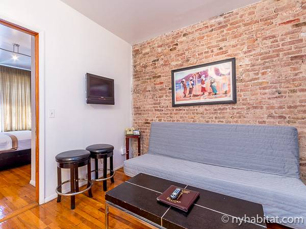 New York T2 logement location appartement - séjour (NY-15307) photo 2 sur 4