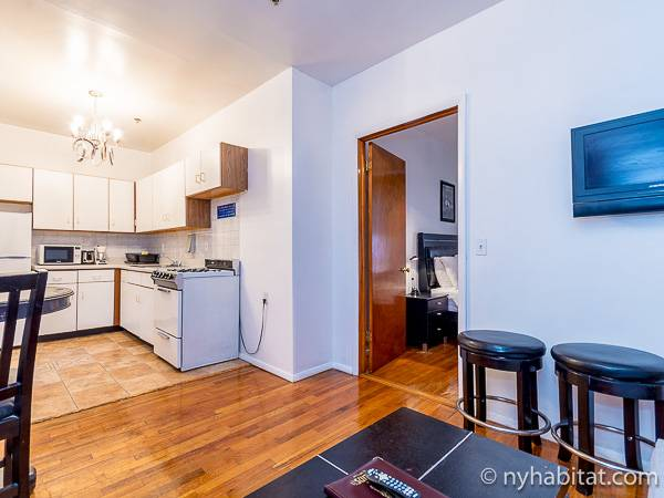 New York T2 logement location appartement - séjour (NY-15307) photo 4 sur 4