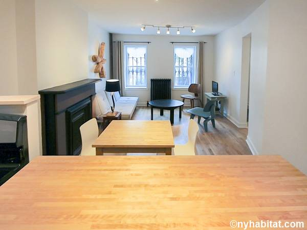 New York 1 Bedroom accommodation - living room (NY-15347) photo 2 of 6