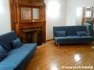 New York 2 Bedroom apartment - living room (NY-15405) photo 1 of 8