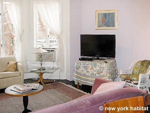 New York 1 Bedroom accommodation - living room (NY-15414) photo 2 of 8