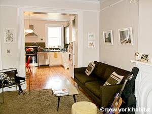 New York T3 - Duplex logement location appartement - séjour (NY-15439) photo 3 sur 6
