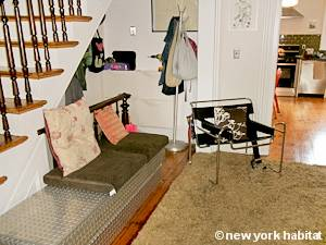 New York T3 - Duplex logement location appartement - séjour (NY-15439) photo 4 sur 6
