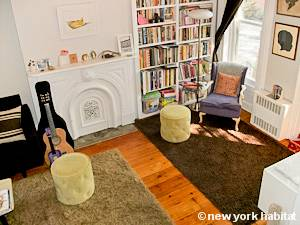 New York T3 - Duplex logement location appartement - séjour (NY-15439) photo 2 sur 6