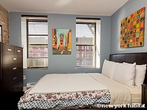 New York 2 Bedroom apartment - bedroom 1 (NY-15482) photo 1 of 3