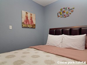 New York 2 Bedroom apartment - bedroom 2 (NY-15492) photo 2 of 3