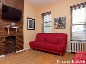 New York 2 Bedroom apartment - living room (NY-15492) photo 2 of 3