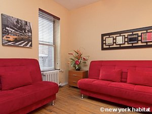 New York 2 Bedroom apartment - living room (NY-15492) photo 3 of 3