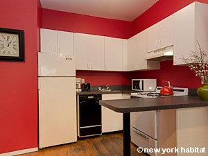 New York 2 Bedroom apartment - kitchen (NY-15492) photo 2 of 2