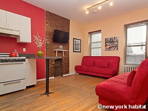 New York 2 Bedroom apartment - living room (NY-15492) photo 1 of 3