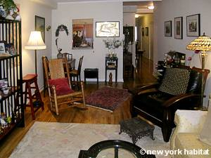New York 2 Bedroom roommate share apartment - living room (NY-15502) photo 4 of 4