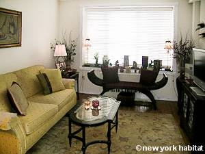 New York 2 Bedroom roommate share apartment - living room (NY-15502) photo 2 of 4