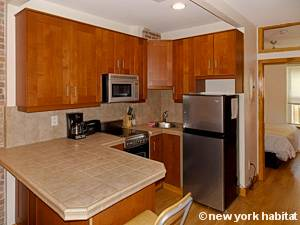 New York 1 Camera da letto appartamento - cucina (NY-15508) photo 1 di 2