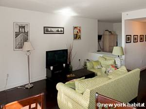New York Alcove Studio apartment - living room (NY-15528) photo 3 of 8