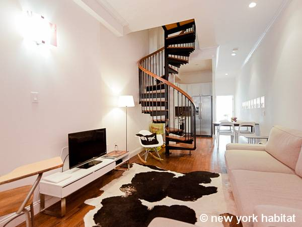 new york accommodation 2 bedroom duplex apartment rental in harlem