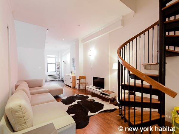 New York Accommodation 2 Bedroom Duplex Apartment Rental