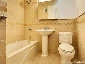 New york appartamento ammobiliato appartamento for 2 camere da letto 1 bagno piani duplex