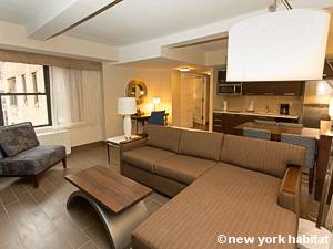 New York 1 Bedroom accommodation - living room (NY-15732) photo 2 of 4