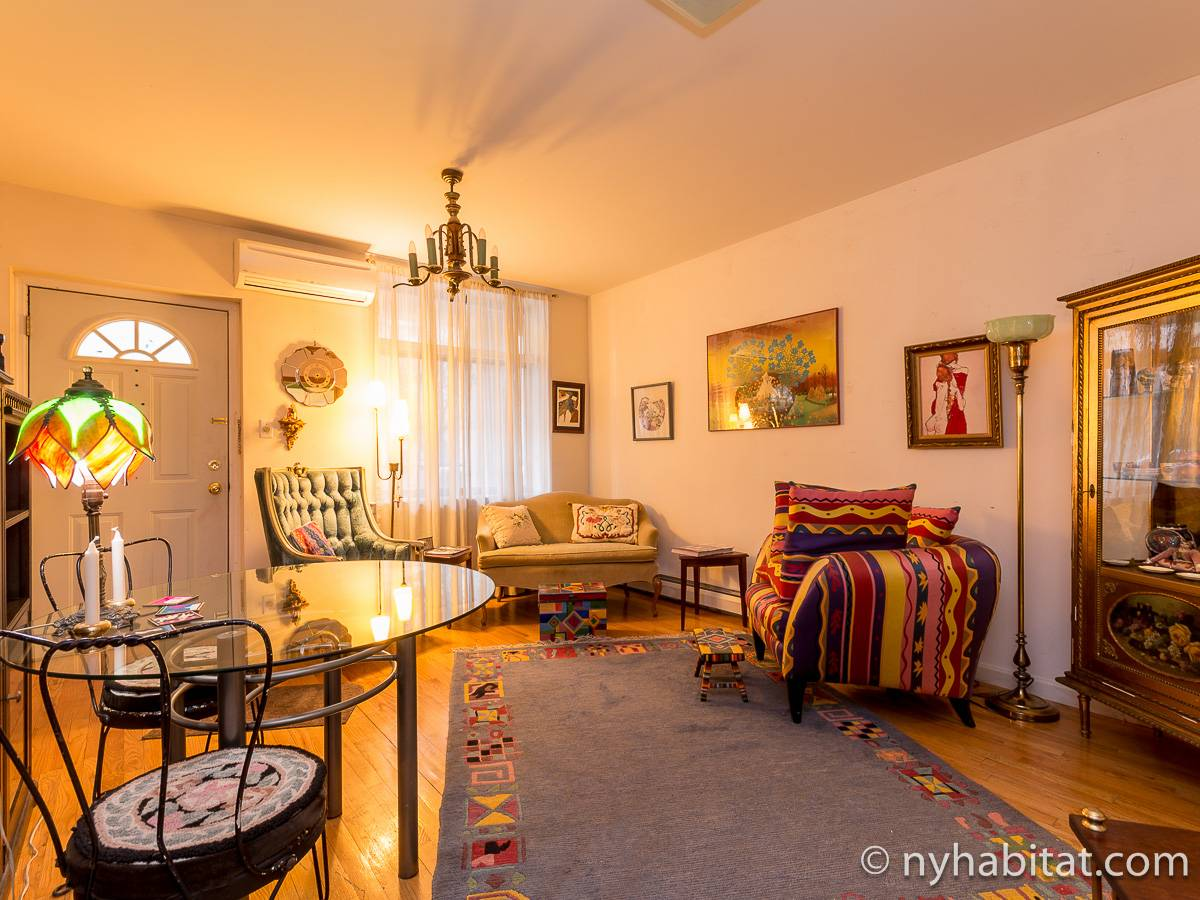 New York - 1 Bedroom accommodation bed breakfast - Apartment reference NY-15778