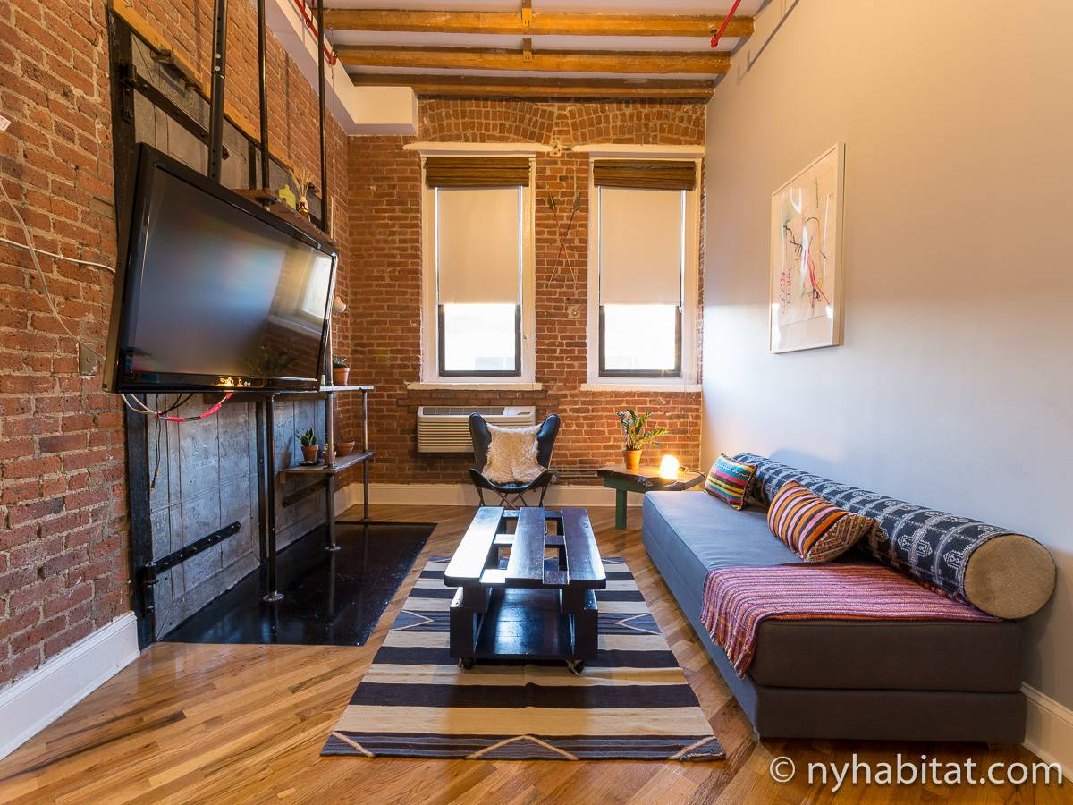 New york apartment studio loft apartment rental in for New york loft apartments