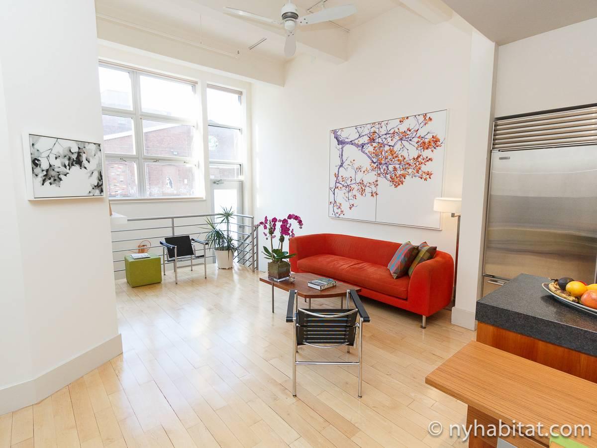 New York Apartment 1 Bedroom Loft Duplex Apartment Rental In Williamsburg Ny 16111