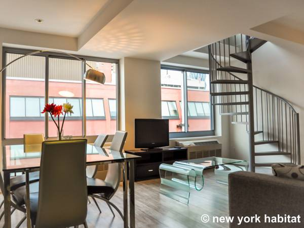New York Apartment 4 Bedroom Duplex Apartment Rental In Midtown West Ny 16140