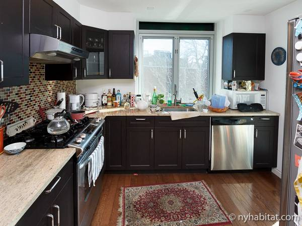 ... New York 2 Bedroom   Duplex Apartment   Kitchen (NY 16158) Photo 2 ...