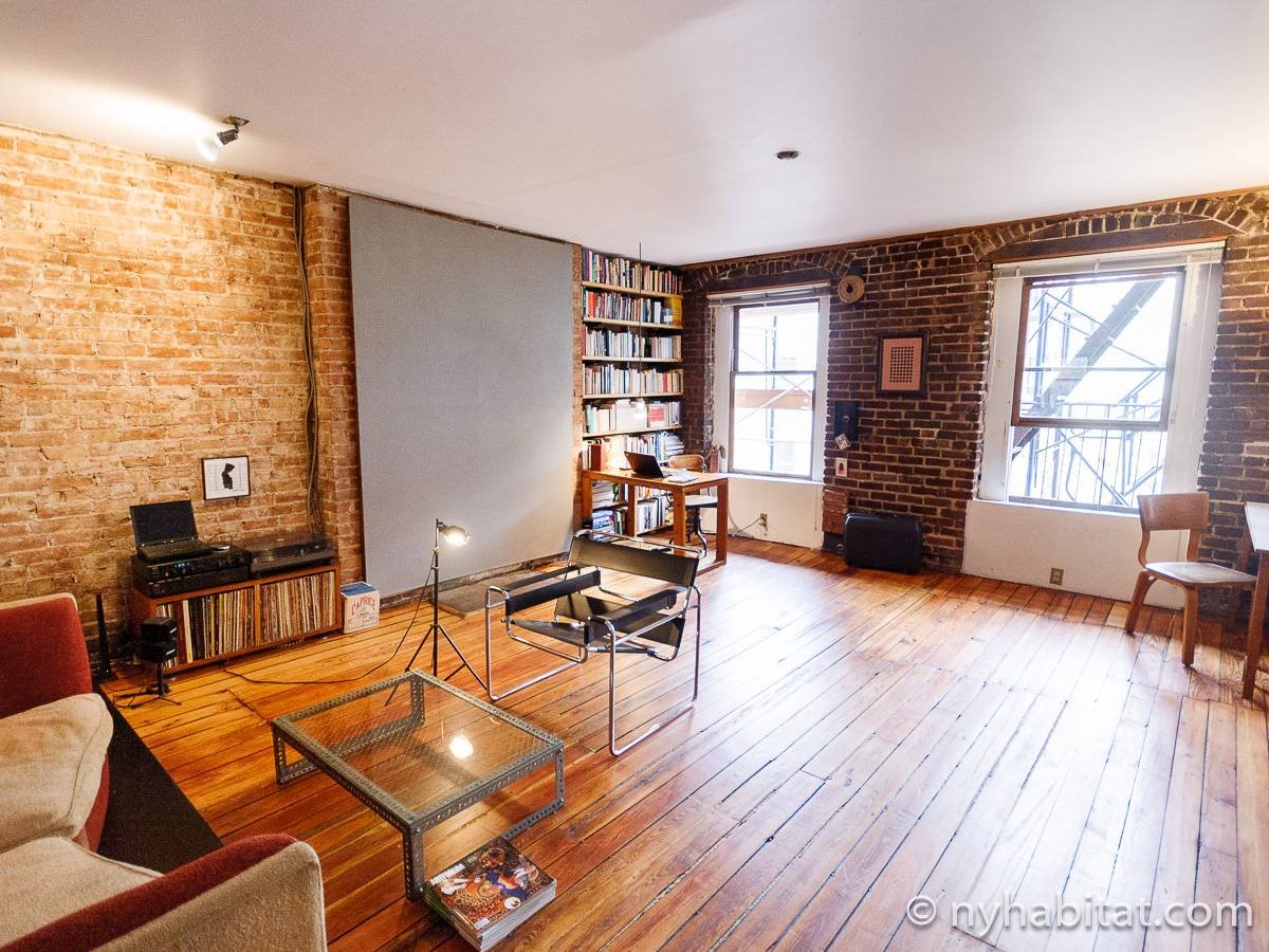 New York Apartment: 1 Bedroom Loft Apartment Rental in ...
