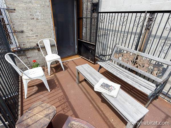New York T2 appartement bed breakfast - séjour 1 (NY-16194) photo 5 sur 7