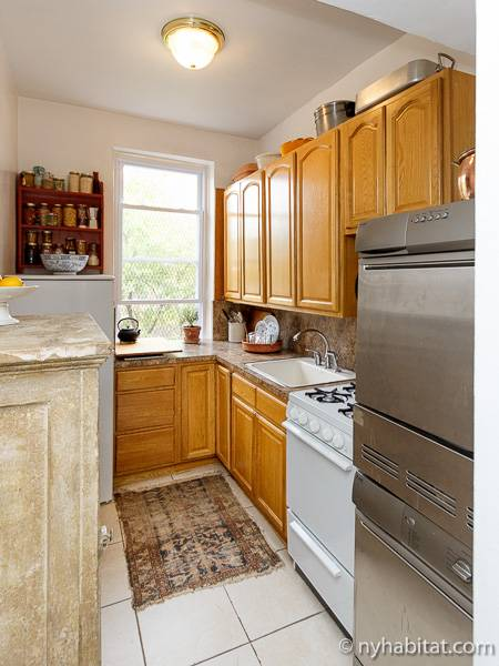 New York T2 appartement bed breakfast - cuisine (NY-16194) photo 1 sur 4