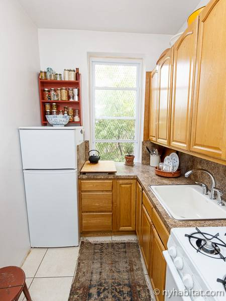 New York T2 appartement bed breakfast - cuisine (NY-16194) photo 2 sur 4