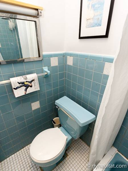 New York T2 appartement bed breakfast - salle de bain (NY-16194) photo 2 sur 2