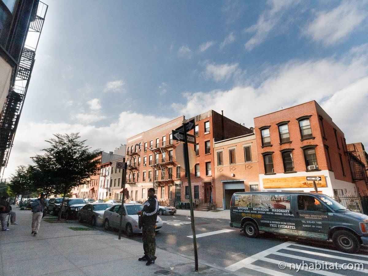 Appartamento a new york monolocale prospect heights for Monolocale a new york