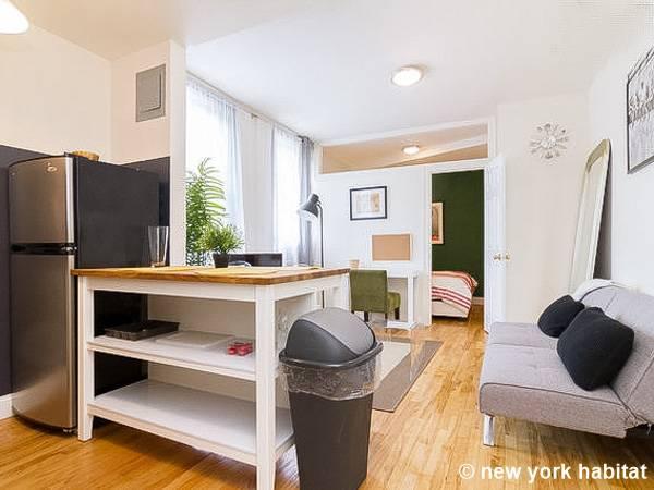 new york apartment: alcove studio apartment rental in west village