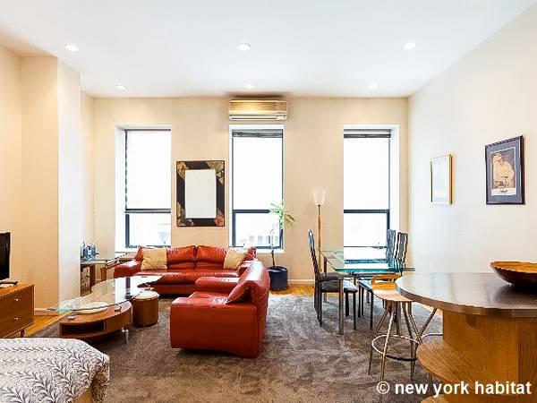 York 3 Zimmer Wohnungsvermietung Wohnzimmer NY16403 Photo 2 Von 4
