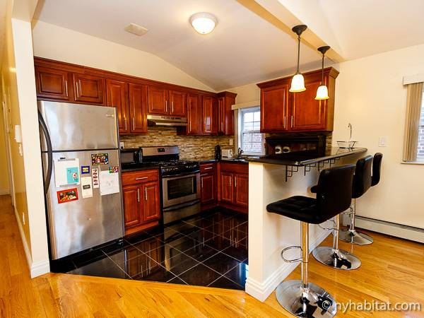 new york 3 bedroom roommate share apartment kitchen ny 16442 photo