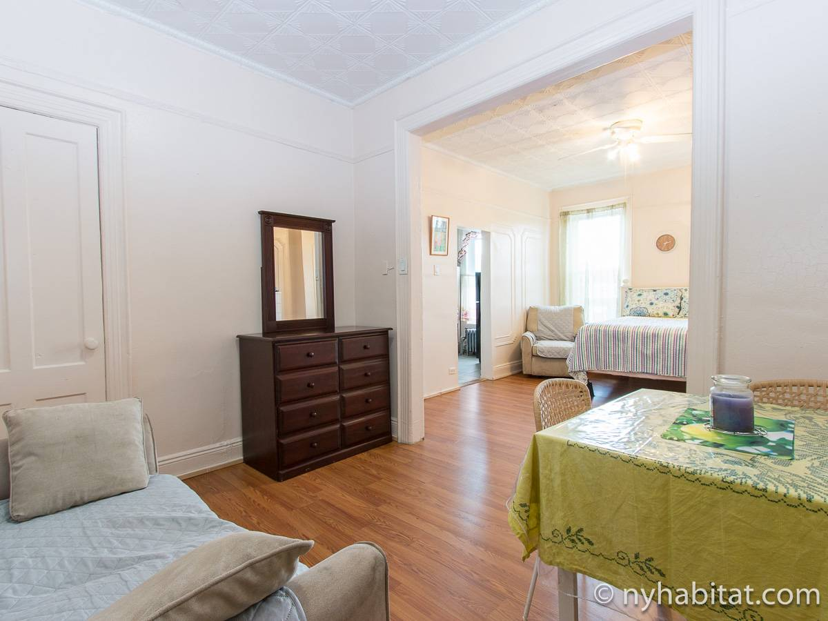 New York Alcove Studio apartment - living room (NY-16492) photo 5 of 8