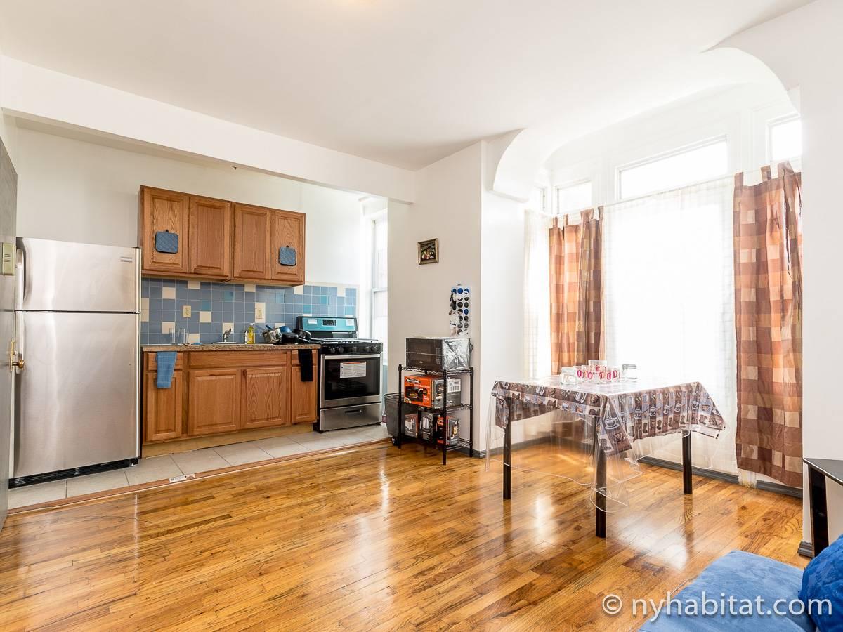 Stanza in affitto a new york 3 camere da letto bedford for Appartamenti in affitto new york city