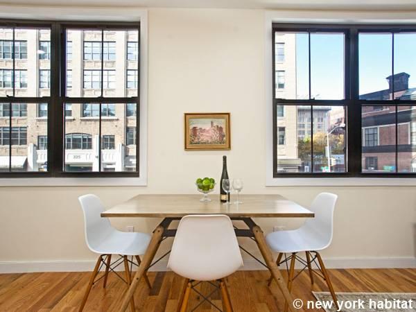 new york 2 bedroom duplex accommodation living room ny 16620