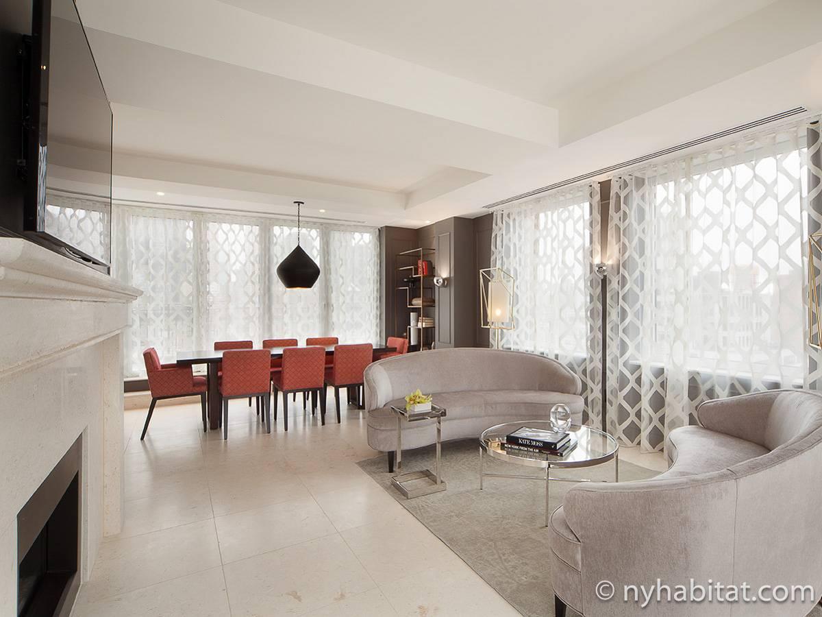 New York 3 Bedroom   Duplex   Penthouse Apartment   Living Room (NY 16729  ...