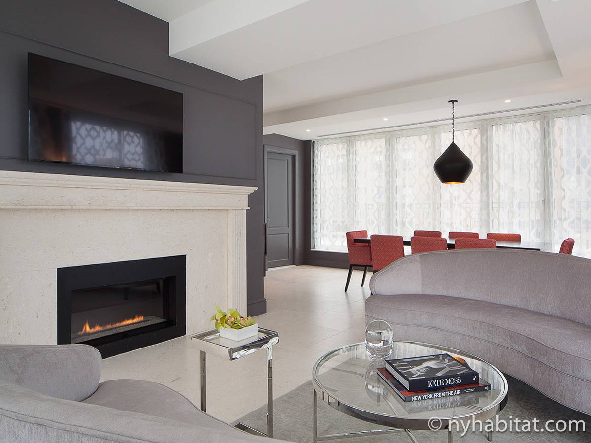 New York Apartment 3 Bedroom Duplex Penthouse Apartment