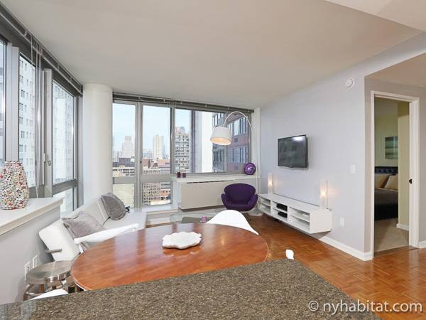 New York 1 Bedroom Apartment   Living Room (NY 16788) Photo 1 Of ...