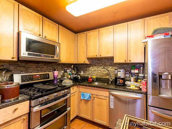 New York 3 Bedroom roommate share apartment - kitchen (NY-16823) photo 3 of 4