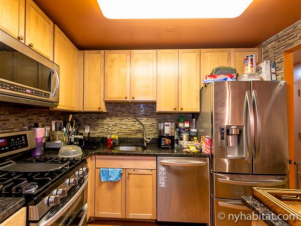 new york 3 bedroom roommate share apartment kitchen ny 16823 photo