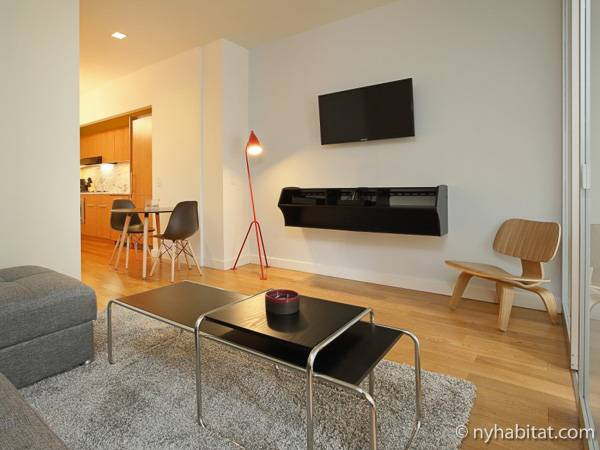 ... New York 1 Bedroom Apartment   Living Room (NY 16841) Photo 5 Of ...
