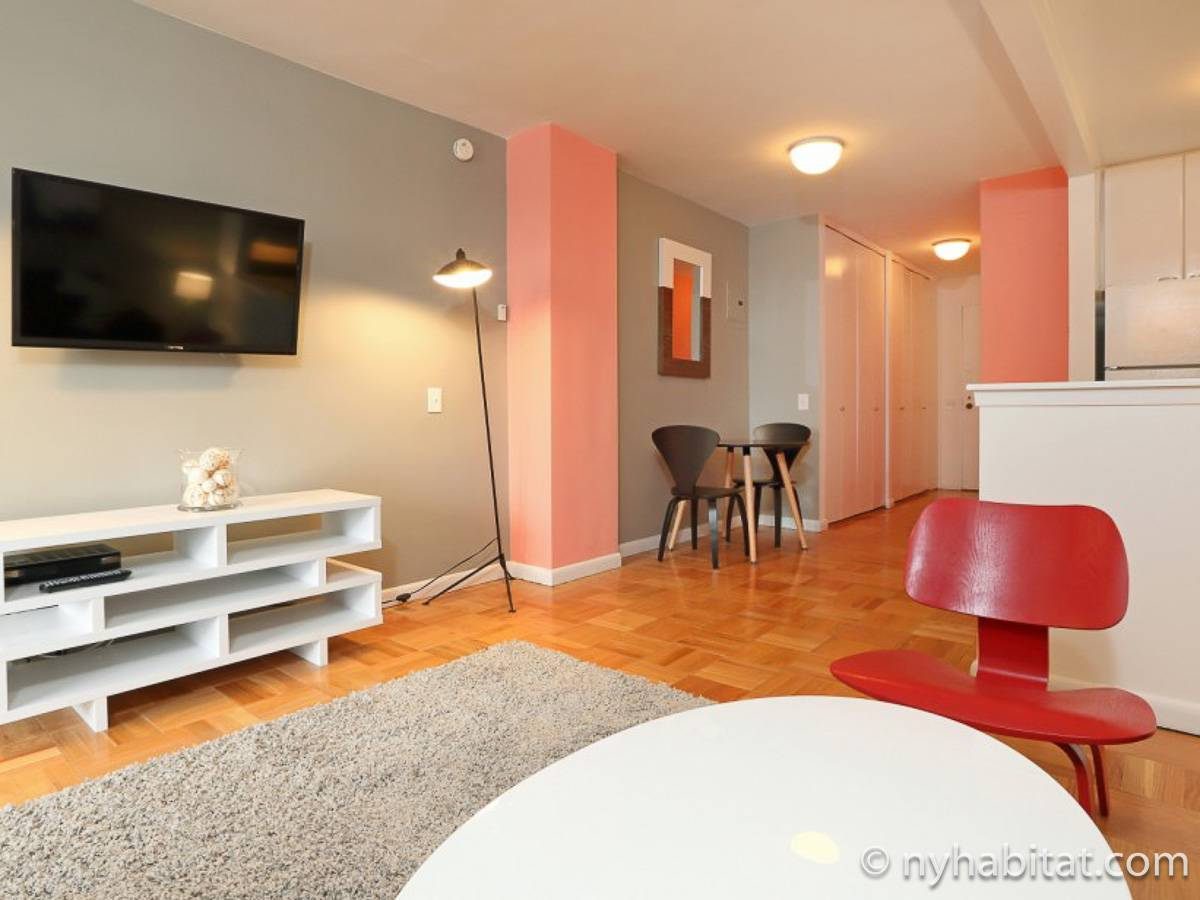 Logement new york location meubl e studio t1 for Location meuble new york