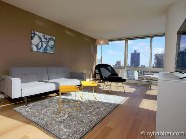 New York 2 Bedroom apartment - living room (NY-17014) photo 1 of 6
