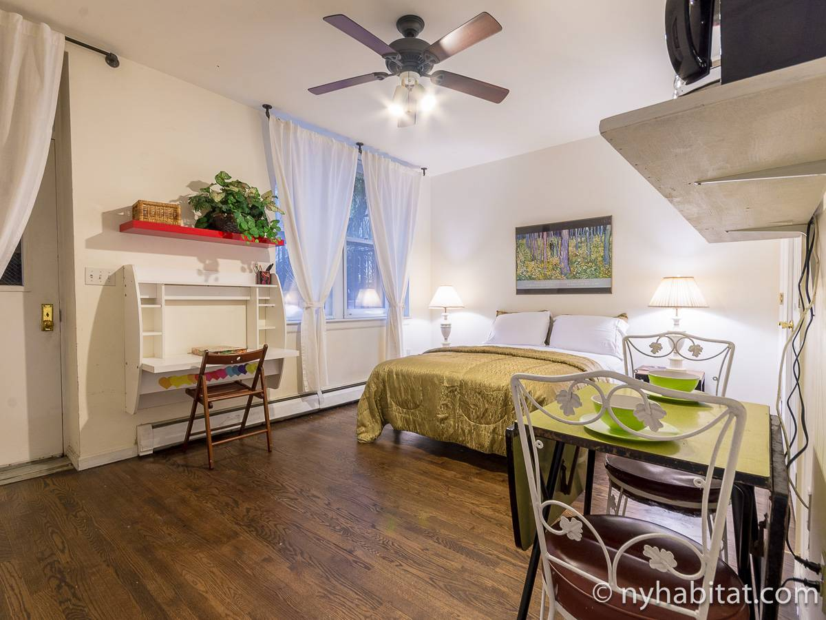 New York - Studio T1 appartement bed breakfast - Appartement référence NY-17025
